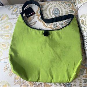 New! Mycra Pac Now Bag Lime Green Shoulder Bag
